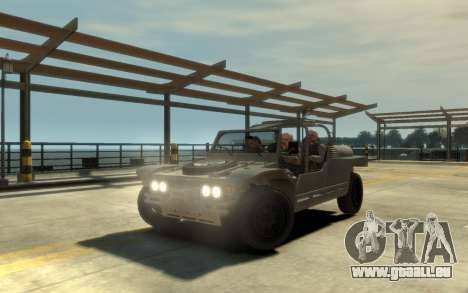 LYT-2021 pour GTA 4 Vue arrière de la gauche