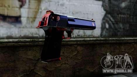 Desert Eagle Criacia für GTA San Andreas zweiten Screenshot