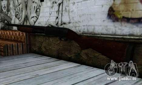 M37 Ithaca Long SS pour GTA San Andreas deuxième écran