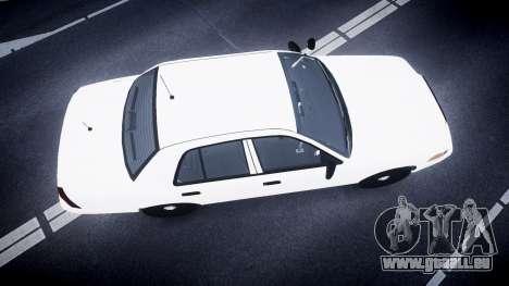 Ford Crown Victoria LCPD Unmarked [ELS] für GTA 4 rechte Ansicht