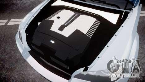 BMW X6 Tycoon EVO M 2011 Hamann pour GTA 4 est une vue de l'intérieur