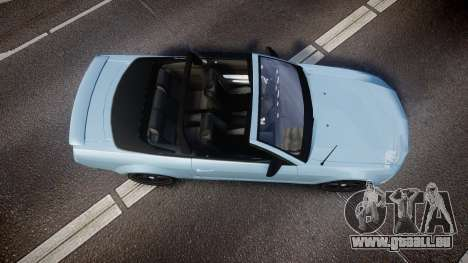 Ford Mustang Convertible Mk.V 2008 für GTA 4 rechte Ansicht