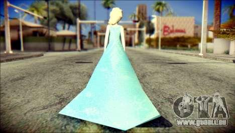 Frozen Elsa v2 für GTA San Andreas zweiten Screenshot
