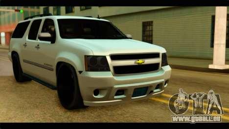 Chevrolet Suburban 2010 NFS pour GTA San Andreas