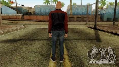 Skin 4 from Heists GTA Online DLC pour GTA San Andreas deuxième écran