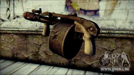 Rumble 6 Combat Shotgun für GTA San Andreas zweiten Screenshot