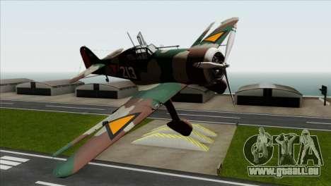 Fokker D.XXI für GTA San Andreas