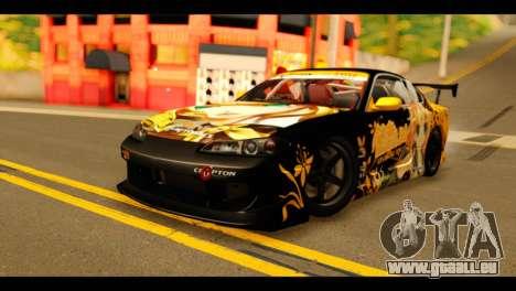 Nissan Silvia S15 Kagamine Rin Itasha pour GTA San Andreas