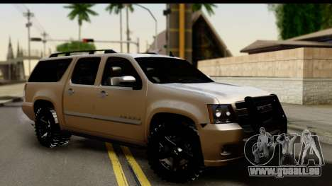 Chevrolet Suburban 4x4 pour GTA San Andreas