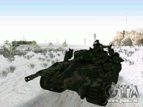 Panther pour GTA San Andreas sur la vue arrière gauche
