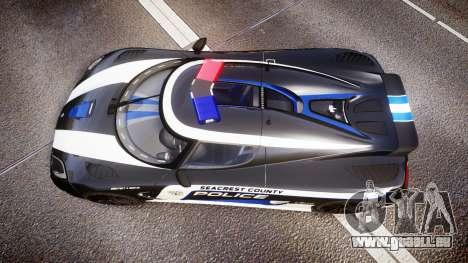 Koenigsegg Agera 2013 Police [EPM] v1.1 PJ3 für GTA 4 rechte Ansicht