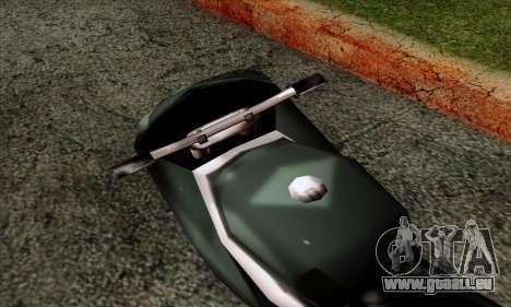 GTA LCS PCJ-600 für GTA San Andreas Rückansicht