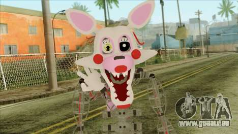Mangle from Five Nights at Freddy 2 pour GTA San Andreas troisième écran