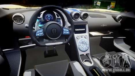 Koenigsegg Agera 2013 Police [EPM] v1.1 PJ3 für GTA 4 Innenansicht