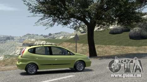 Daewoo Tacuma (Rezzo) CDX 2001 pour le moteur de GTA 4