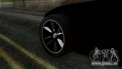 Toyota Supra FT v2 pour GTA San Andreas sur la vue arrière gauche