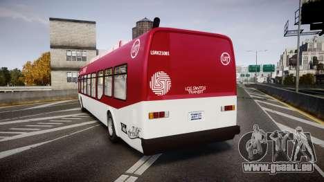 GTA V Brute Bus für GTA 4 hinten links Ansicht
