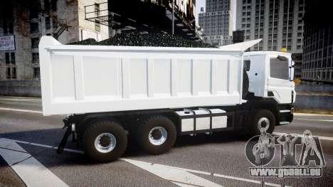 Scania P420 pour GTA 4 est une gauche
