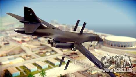 B-1B Lancer Camo Texture pour GTA San Andreas laissé vue