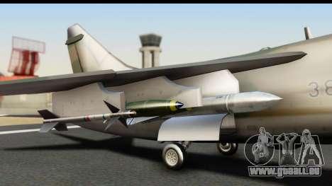 Ling-Temco-Vought A-7 Corsair 2 Belkan Air Force pour GTA San Andreas vue de droite