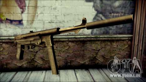 Silenced MP40 from Call of Duty World at War pour GTA San Andreas