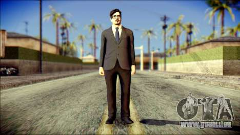 Tony Stark Skin pour GTA San Andreas