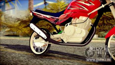 Yamaha Scorpio Z pour GTA San Andreas vue de droite