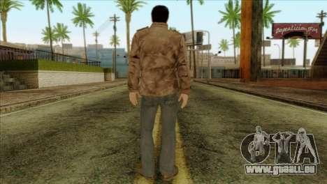 Classic Alex Shepherd Skin without Flashlight pour GTA San Andreas deuxième écran