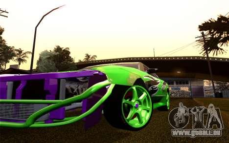 DGTK Elegy v1 pour GTA San Andreas vue intérieure