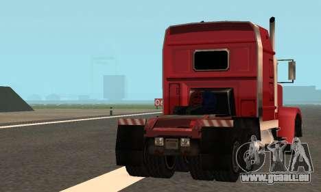 PS2 Linerunner pour GTA San Andreas vue de côté