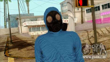 Skin 1 from Heists GTA Online DLC für GTA San Andreas dritten Screenshot