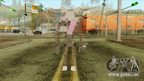 Mangle from Five Nights at Freddy 2 pour GTA San Andreas deuxième écran