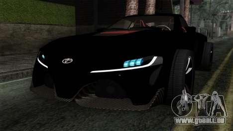 Toyota Supra FT v2 für GTA San Andreas