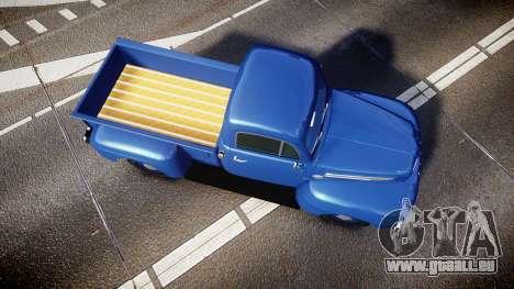Ford F-1 1949 4WD für GTA 4 rechte Ansicht