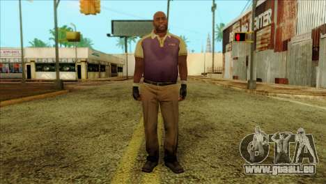 Coach from Left 4 Dead 2 pour GTA San Andreas