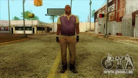 Coach from Left 4 Dead 2 für GTA San Andreas