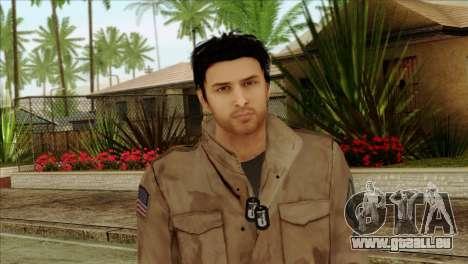Classic Alex Shepherd Skin without Flashlight pour GTA San Andreas troisième écran