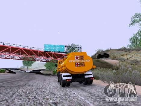 KamAZ 53212 pour GTA San Andreas laissé vue