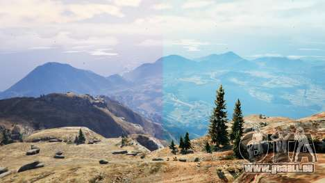 GTA 5 Realism Graphics deuxième capture d'écran