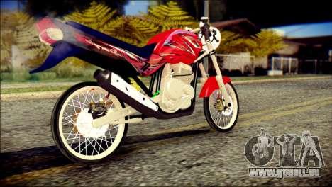 Yamaha Scorpio Z pour GTA San Andreas laissé vue