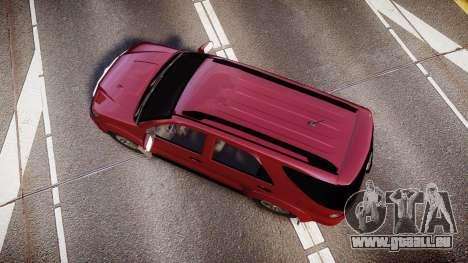 Toyota Hilux SW4 2015 pour GTA 4 est un droit