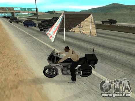 Sauts pour GTA San Andreas troisième écran