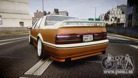 Albany Primo Camber Tuned für GTA 4 hinten links Ansicht