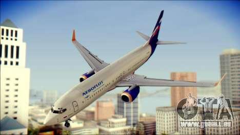 Boeing 737-800 Aeroflot pour GTA San Andreas