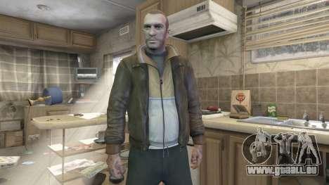 Niko Bellic pour GTA 5