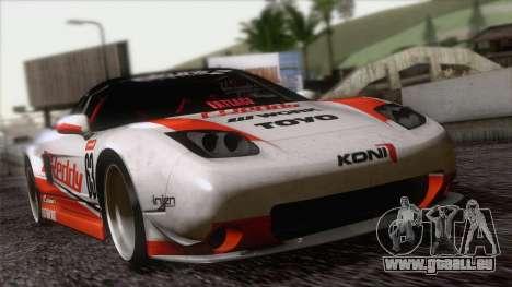 Acura NSX Miku Ghoul Itasha pour GTA San Andreas vue arrière