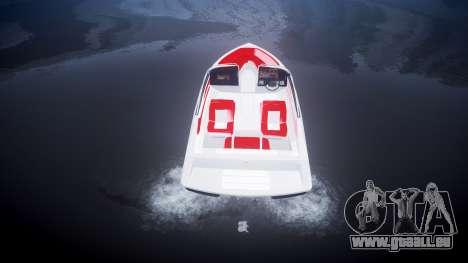 Speed-Boot für GTA 4 hinten links Ansicht
