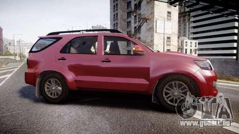 Toyota Hilux SW4 2015 pour GTA 4 est une gauche