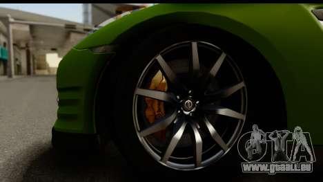 Nissan GT-R Dragster pour GTA San Andreas vue arrière