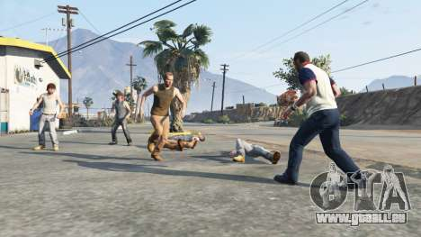 Hostile Pedy pour GTA 5